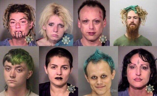■米オレゴン州で捕まったANTIFAメンバーがこちら■