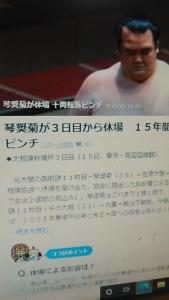 200916 大相撲琴奨菊