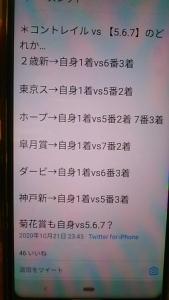 201023 菊花賞