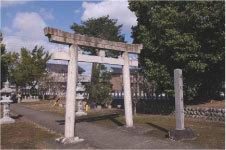 朝日神社北方