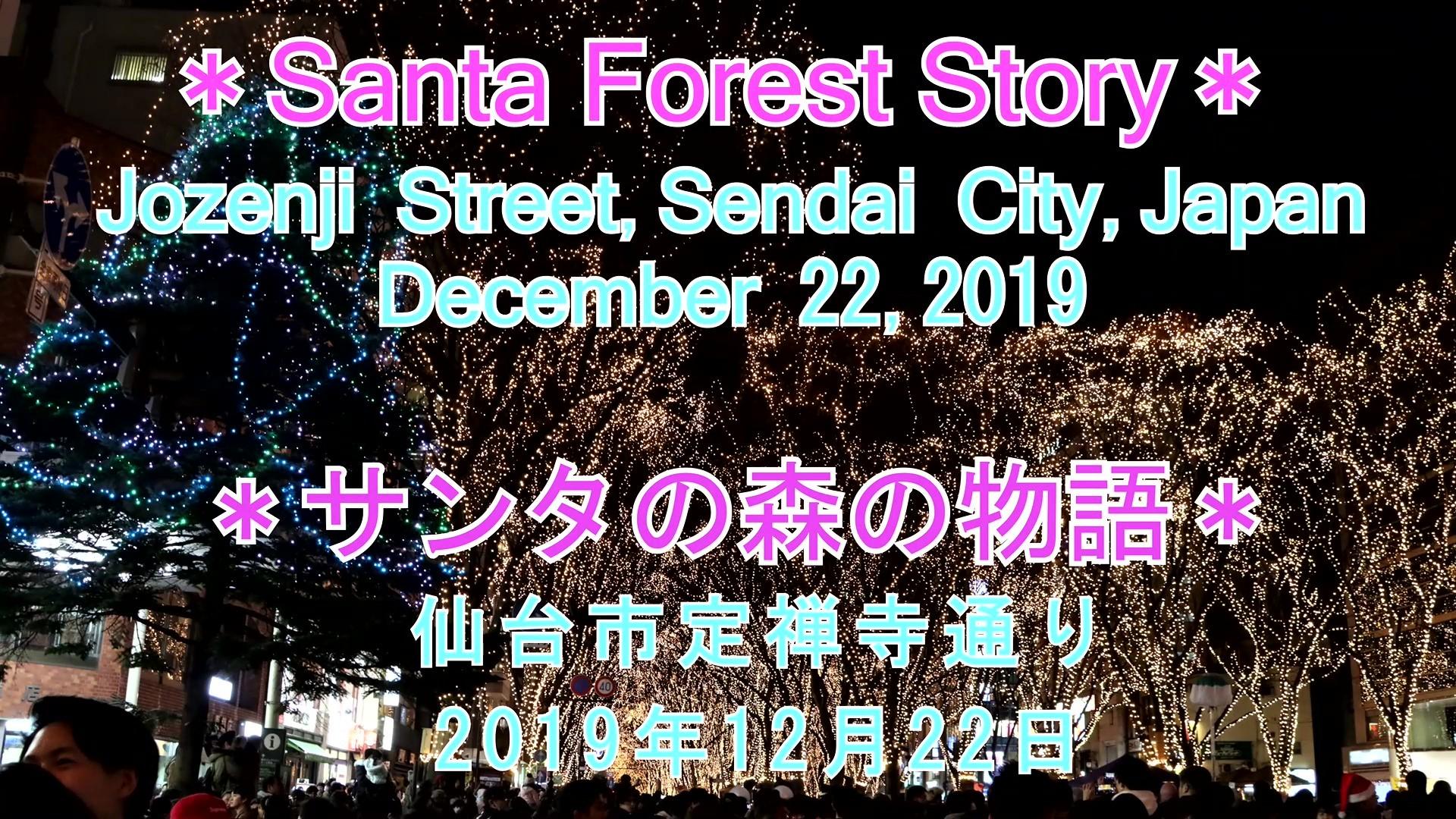 サンタの森の物語2019年