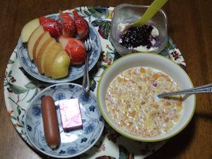 3/14 朝食