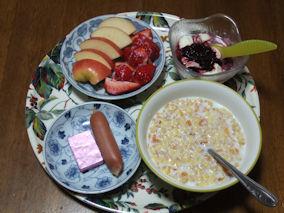 3/26 朝食