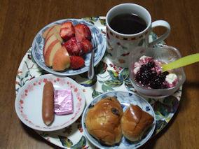 3/28 朝食