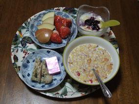 4/17 朝食