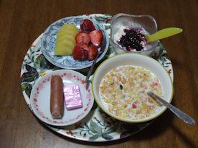 4/21 朝食