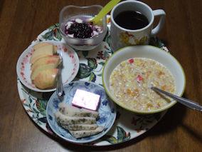 4/26 朝食