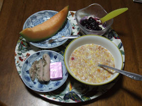 4/27 朝食