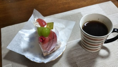 10/15 11年目記念に由理からのケーキ