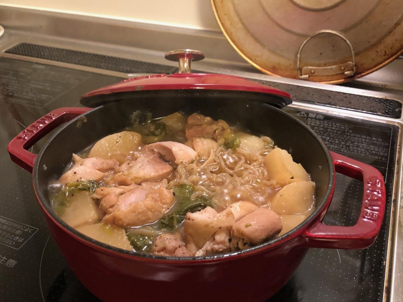 ■ だいこんと鶏肉のうま煮