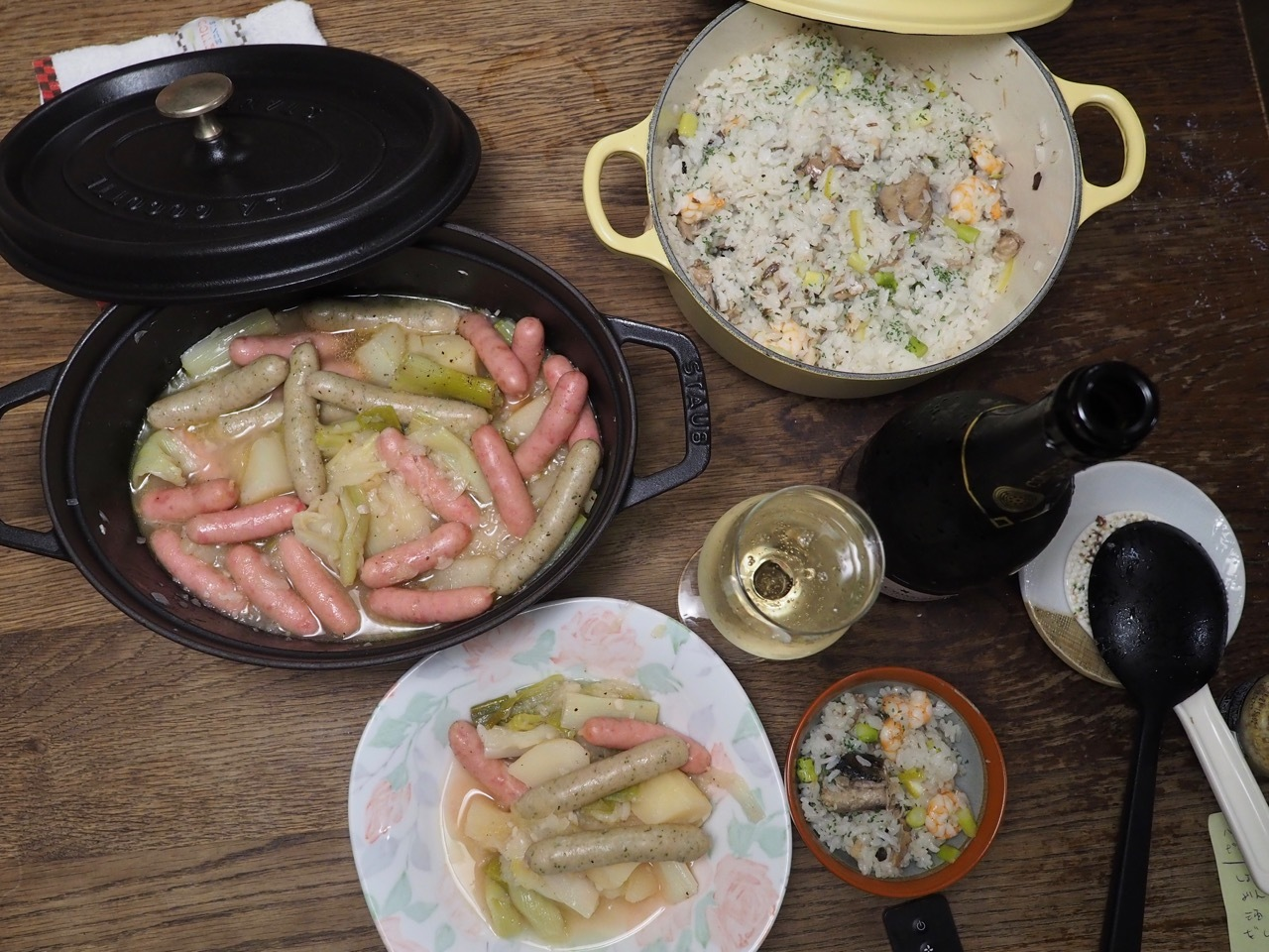 ■ Papet Vaudois スイス料理