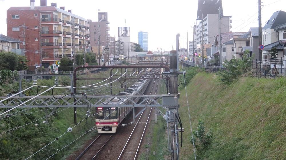 1めじろ台電車IMG_6929