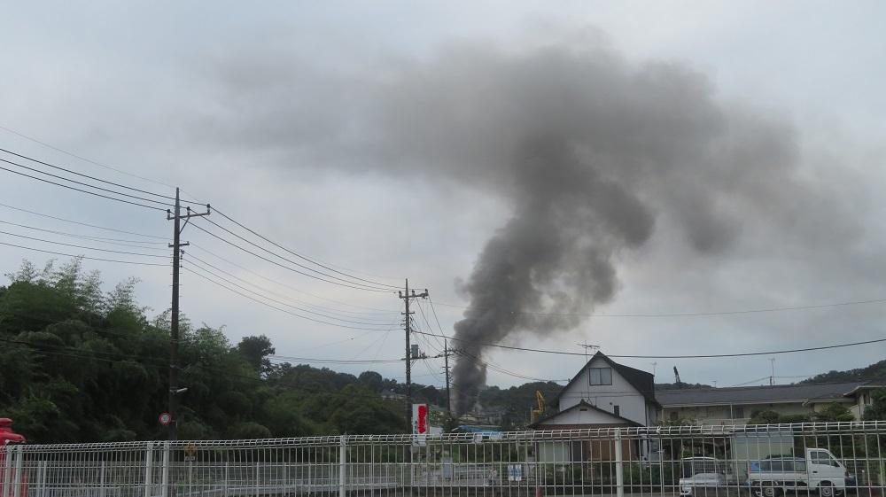 1火事の煙IMG_6945
