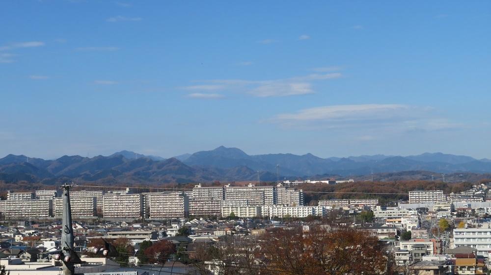 6長房団地と大岳山IMG_7134