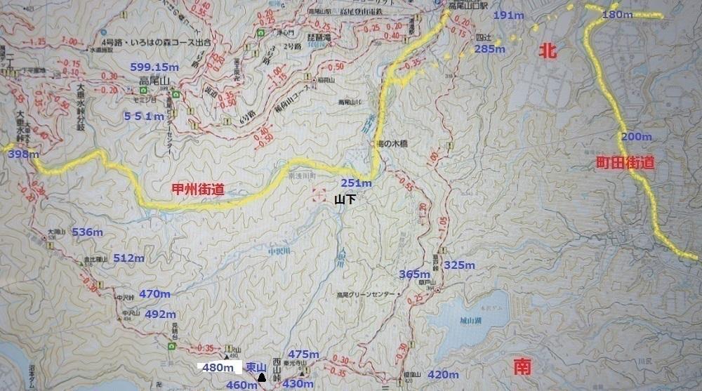 2高尾南山稜マップIMG_7681