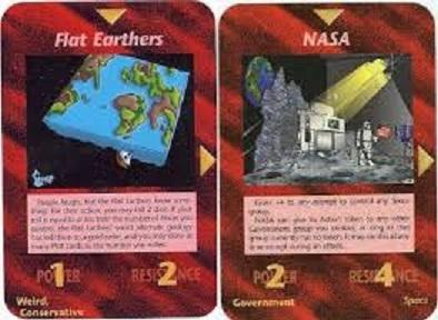 FLAT VS NASA