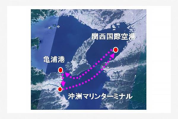 【船】徳島~関空に新たな海上ルート 徳島県が19日に実証運航