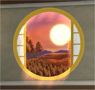 20201007壁かけ四季の丸窓