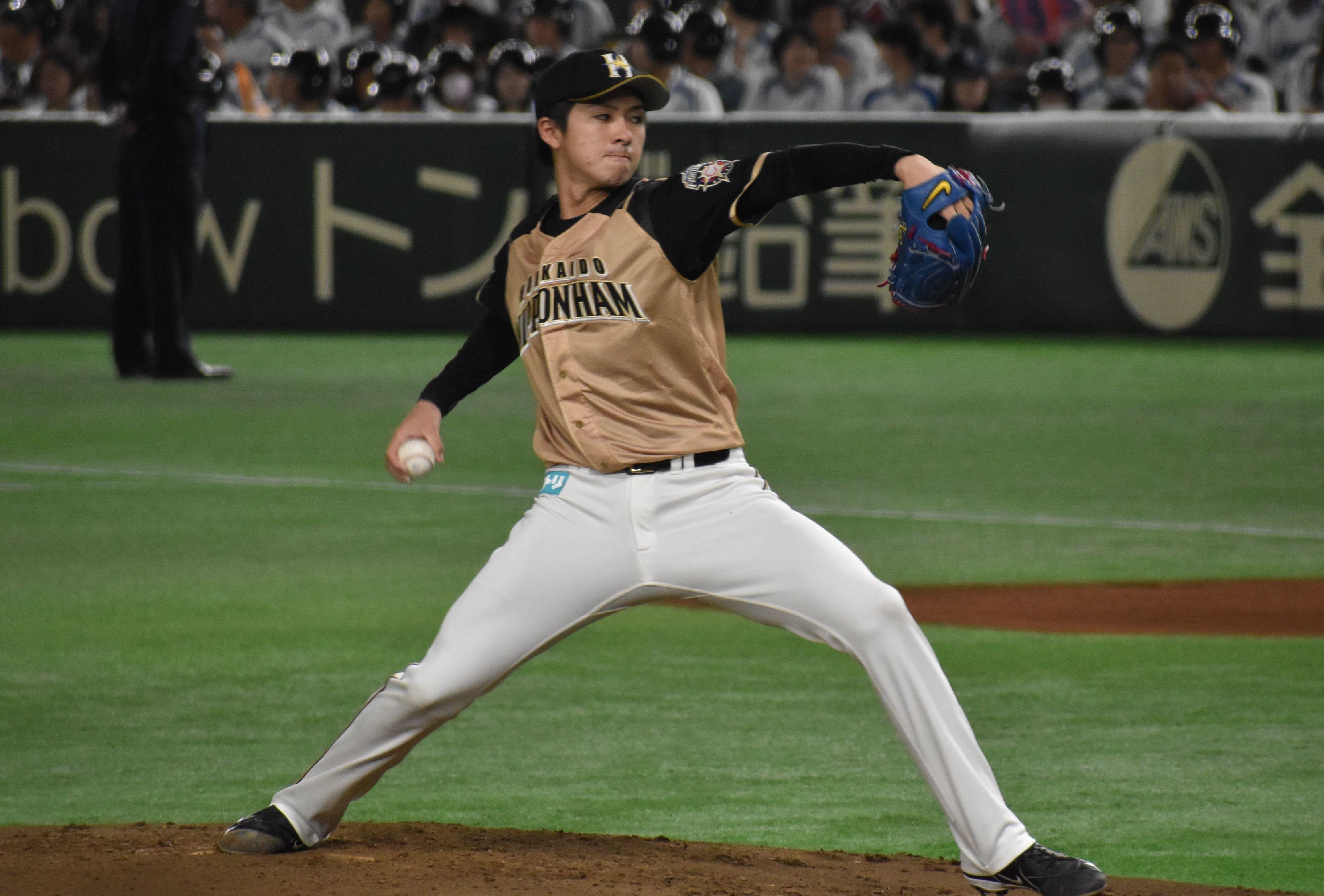 20180417日本ハム 上沢