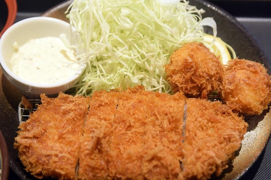 松のや・ホタテフライ (2)