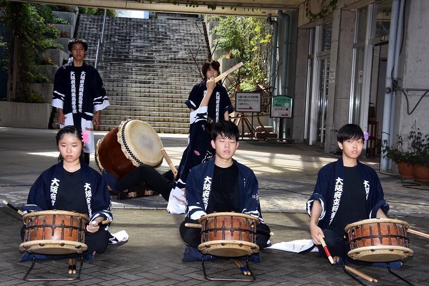 花の文化園、秋のコンサート・太鼓#1 (0)
