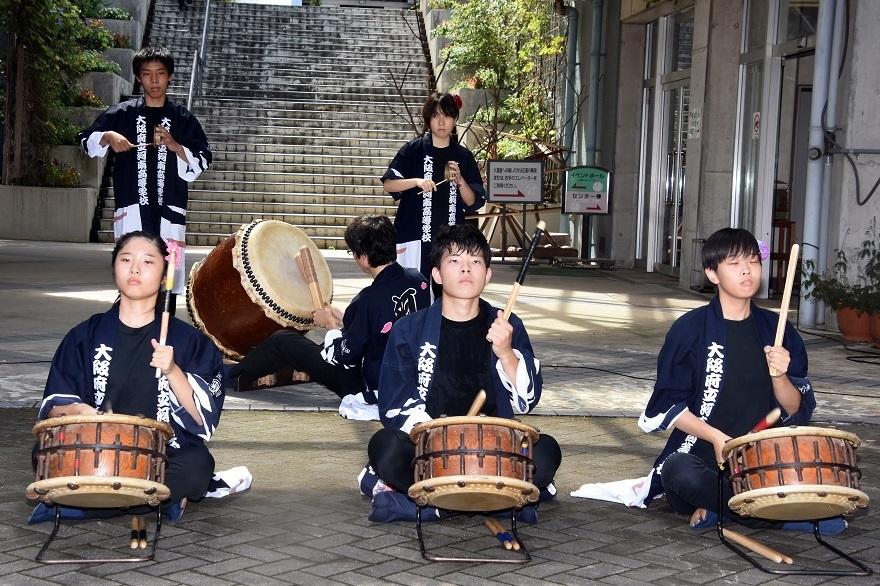 花の文化園、秋のコンサート・太鼓#1 (1)