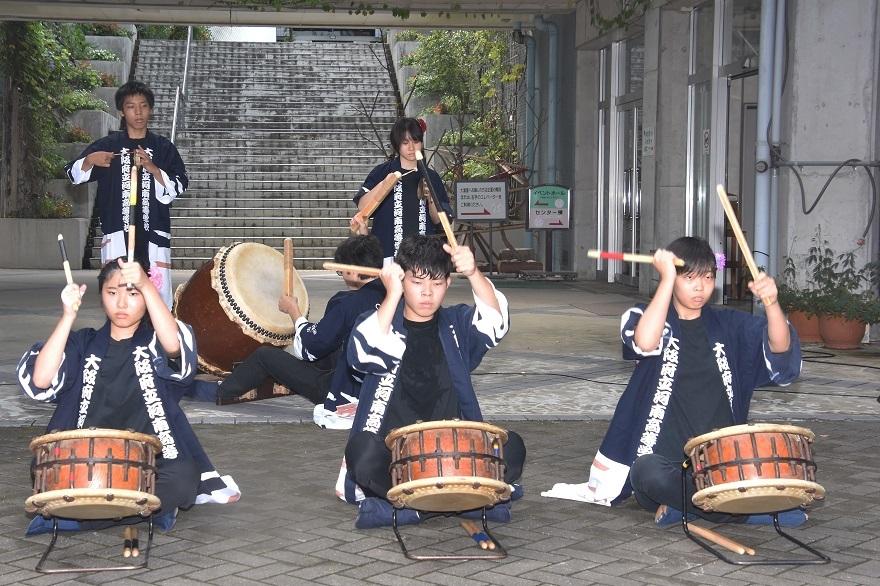 花の文化園、秋のコンサート・太鼓#1 (7)