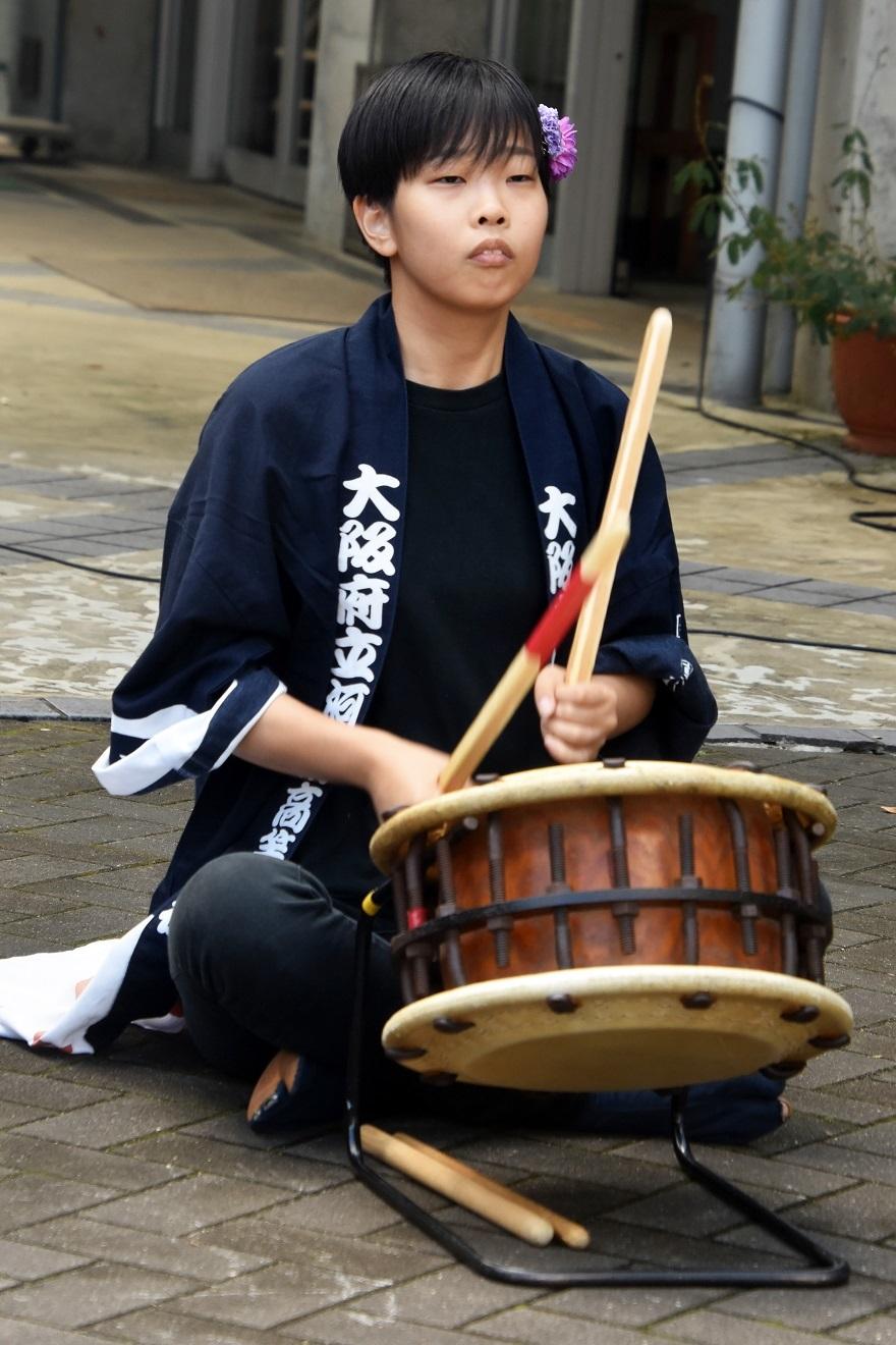 花の文化園、秋のコンサート・太鼓#1 (6)