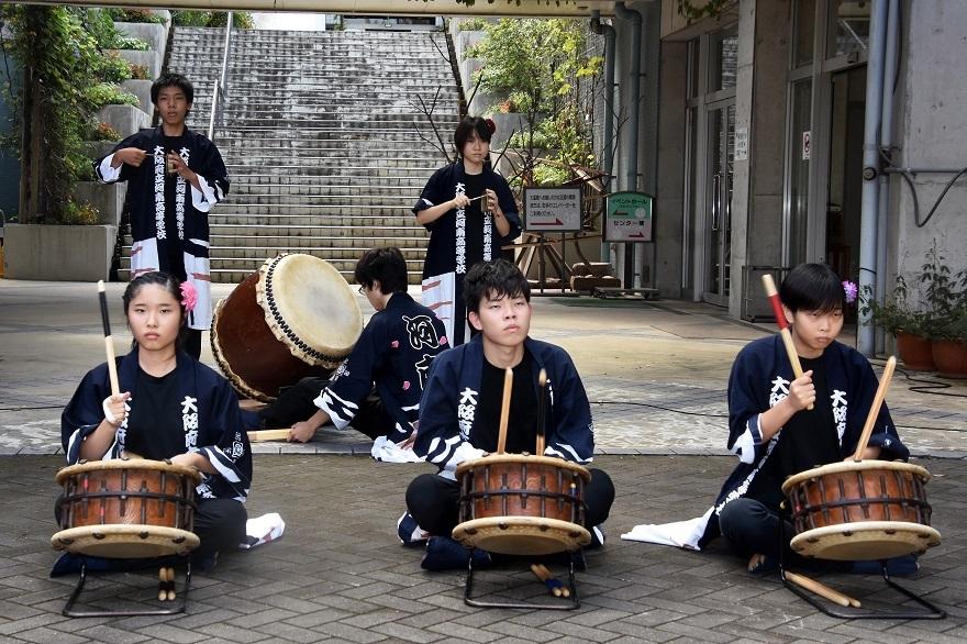 花の文化園、秋のコンサート・太鼓#1 (4)