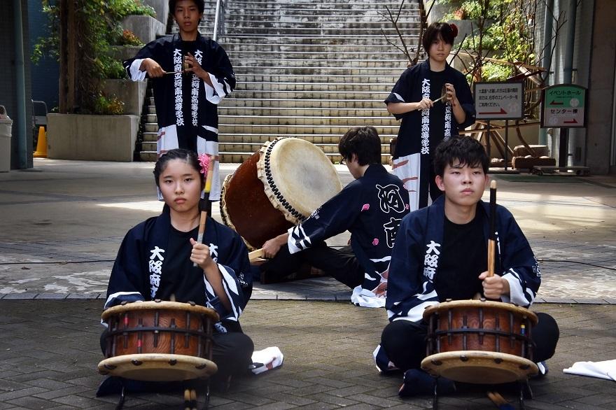 花の文化園、秋のコンサート・太鼓#1 (3)
