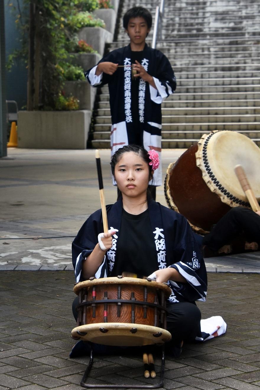 花の文化園、秋のコンサート・太鼓#1 (5)