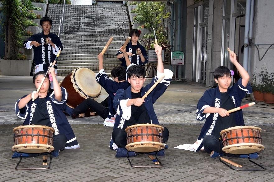 花の文化園、秋のコンサート・太鼓#1 (8)