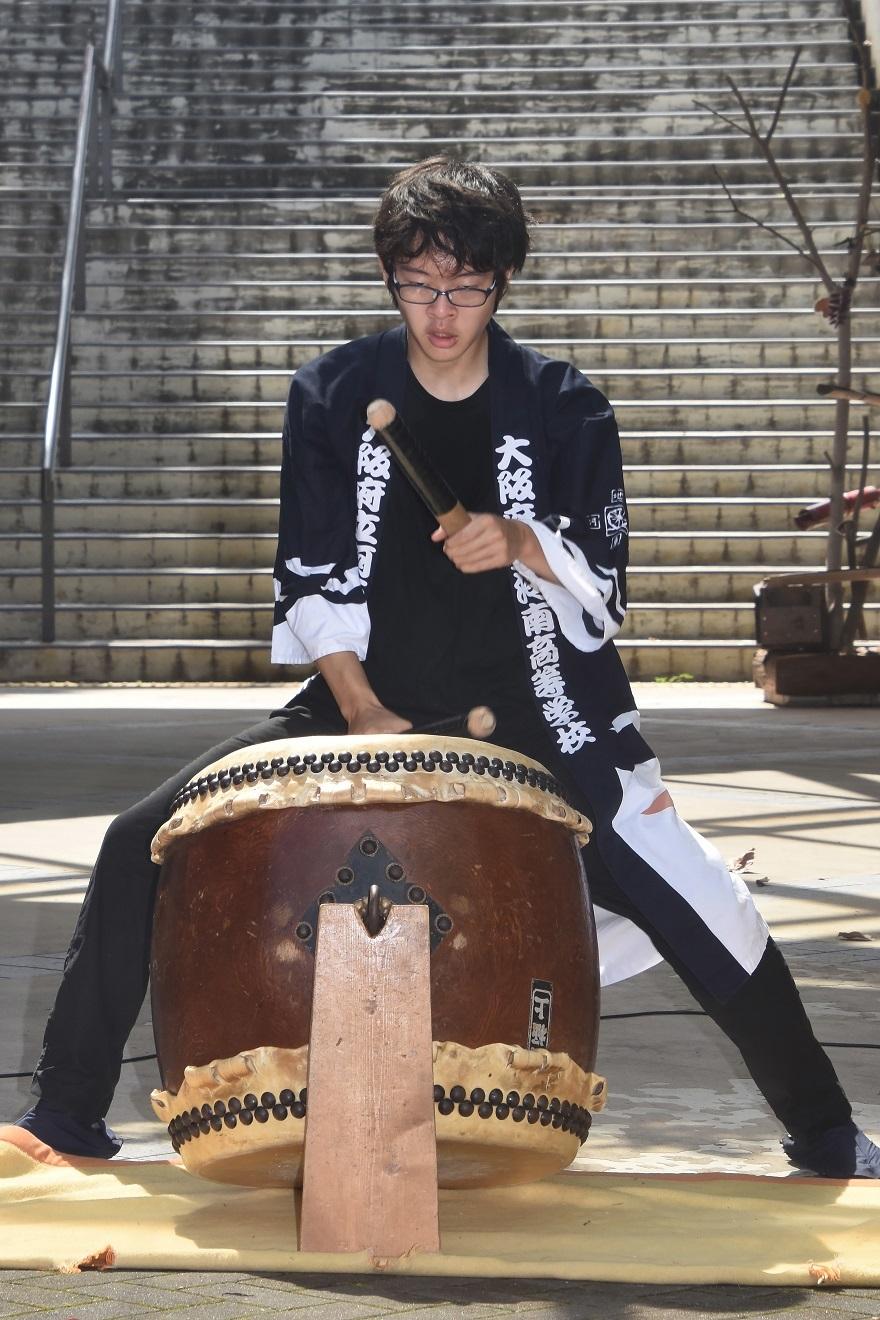 花の文化園、秋のコンサート・太鼓#1 (13)