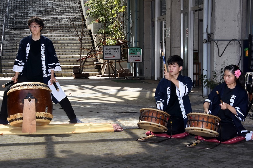 花の文化園、秋のコンサート・太鼓#1 (18)