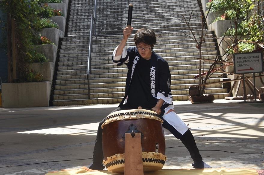 花の文化園、秋のコンサート・太鼓#1 (19)