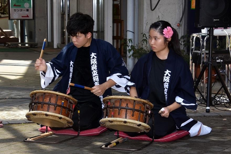 花の文化園、秋のコンサート・太鼓#1 (21)