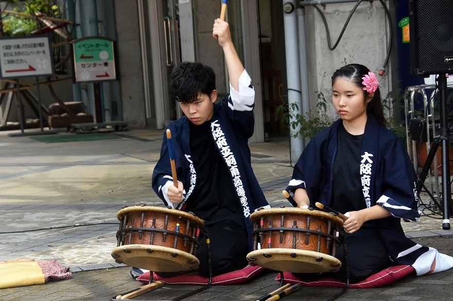 花の文化園、秋のコンサート・太鼓#1 (22)