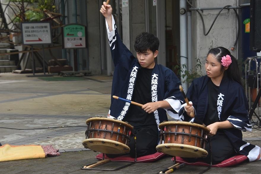 花の文化園、秋のコンサート・太鼓#1 (24)