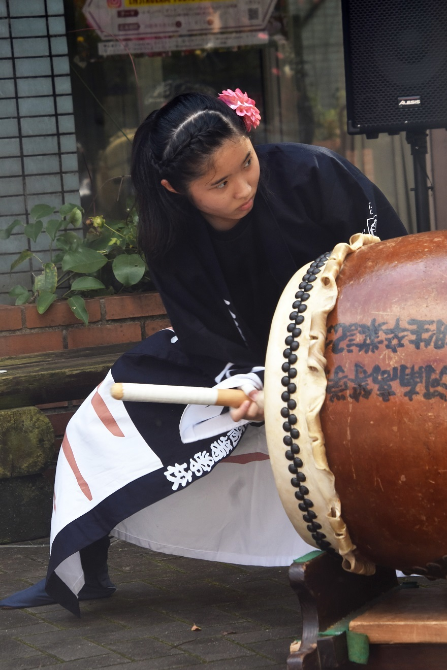 花の文化園、秋のコンサート・太鼓#1 (40)