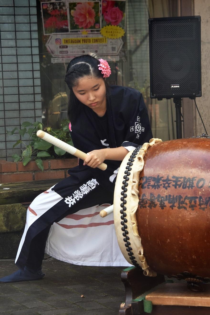 花の文化園、秋のコンサート・太鼓#1 (37)