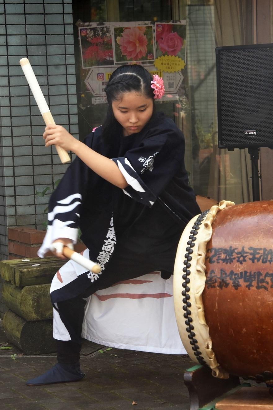 花の文化園、秋のコンサート・太鼓#1 (38)