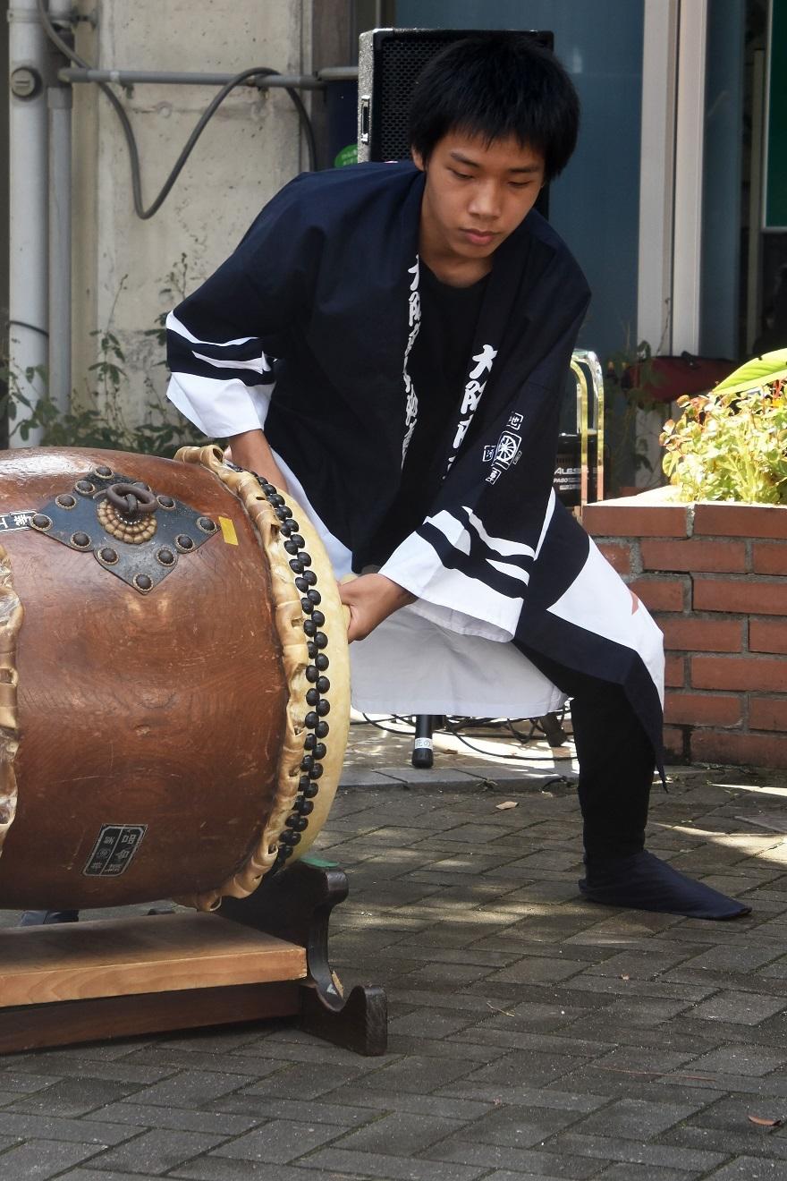 花の文化園、秋のコンサート・太鼓#1 (42)
