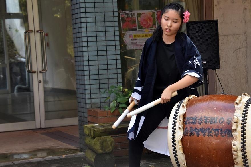 花の文化園、秋のコンサート・太鼓#1 (44)