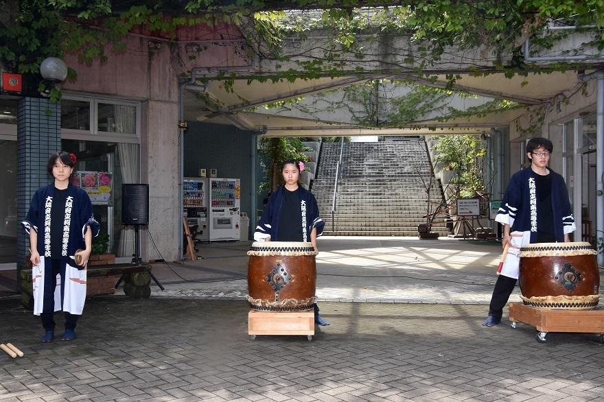 花の文化園、秋のコンサート・太鼓#3 (0)