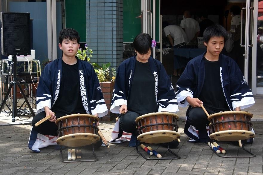 花の文化園、秋のコンサート・太鼓#3 (1)