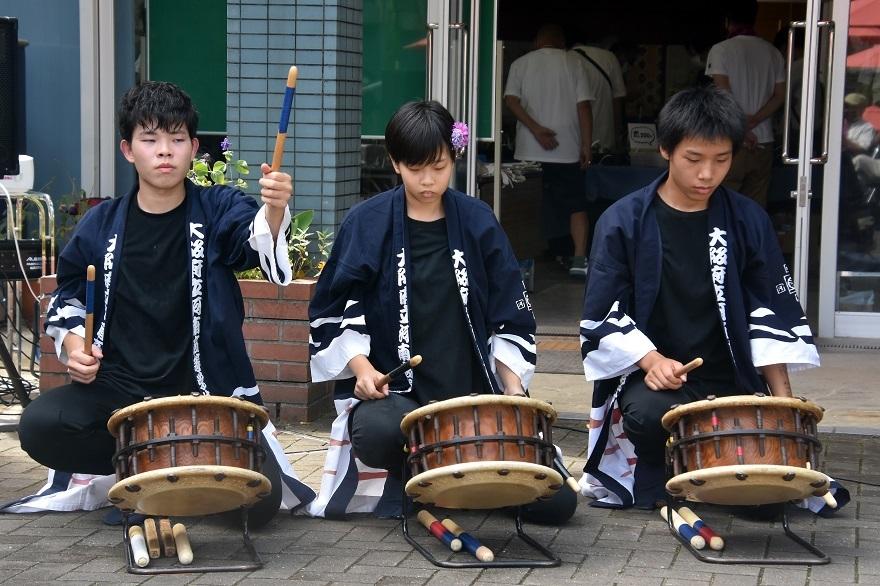 花の文化園、秋のコンサート・太鼓#3 (9)