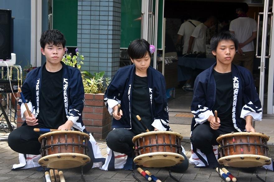 花の文化園、秋のコンサート・太鼓#3 (10)