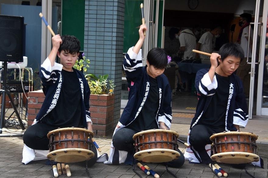 花の文化園、秋のコンサート・太鼓#3 (11)