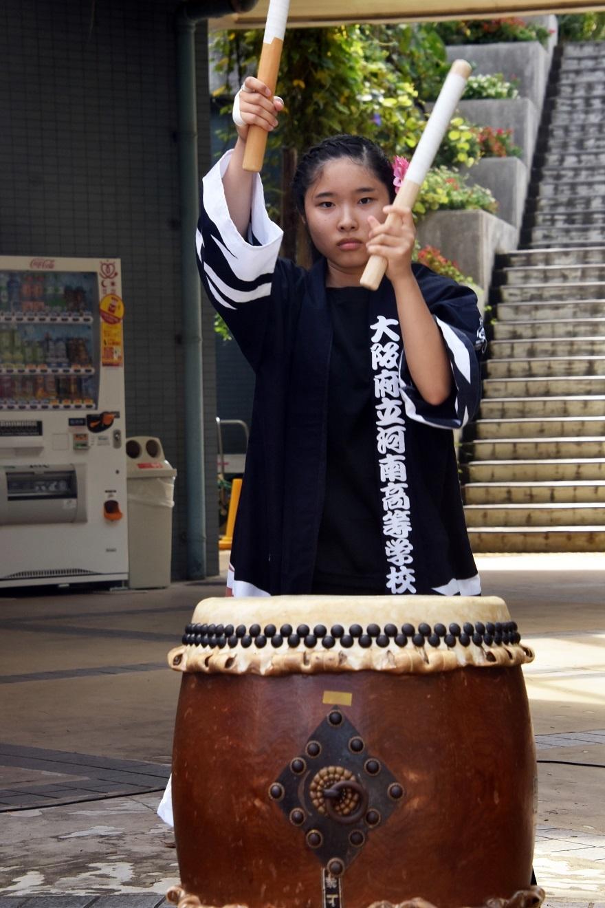 花の文化園、秋のコンサート・太鼓#3 (12)