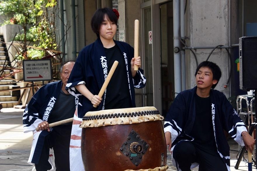 花の文化園、秋のコンサート・太鼓#3 (23)